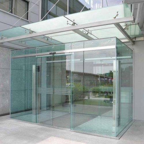 Sakarya Camlı Fotoselli Kapı otomatik kapı yana açılır düz açılır elektrikli