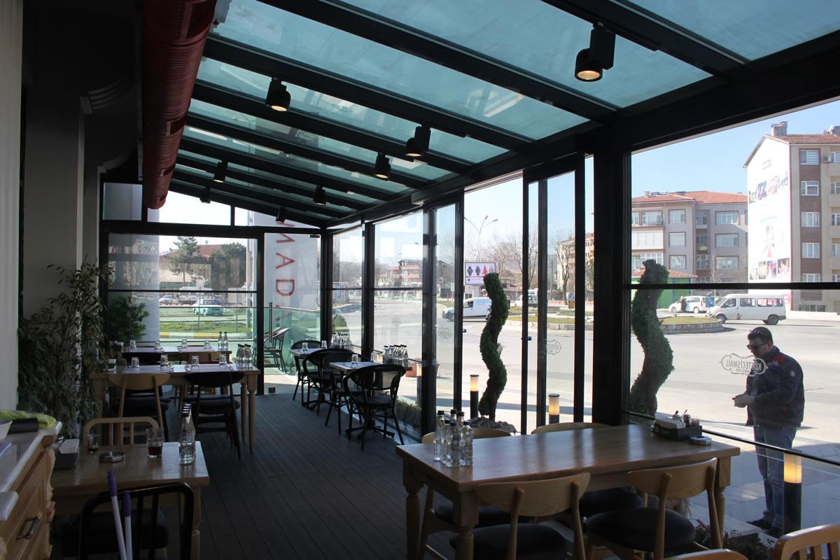 Sakarya Isıcamlı Cam çatı Odesa Sistem Odesa Cam Adapazarı