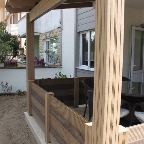 Sakarya bahçe Therrawood Deck Pergola Ahsap Dek Odesa