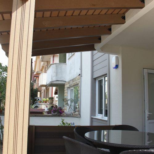Sakarya Therrawood Deck Pergola Ahsap Dek Odesa