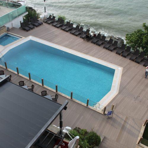 Sakarya kandıra Therrawood Deck Pergola Ahsap Dek havuz saksı Odesa
