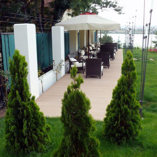 Sakarya Therrawood Deck Pergola Ahsap Dek havuz saksı Odesa
