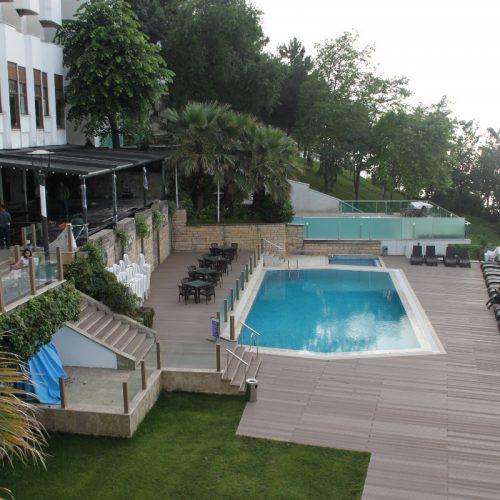 Sakarya kırkpınar Therrawood Deck Pergola Ahsap Dek havuz saksı Odesa