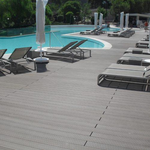 Sakarya havuz Therrawood Deck Pergola Ahsap Dek havuz saksı Odesa