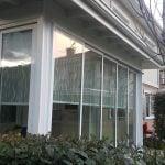 ISICAMLI sürgülü cam balkon sakaya
